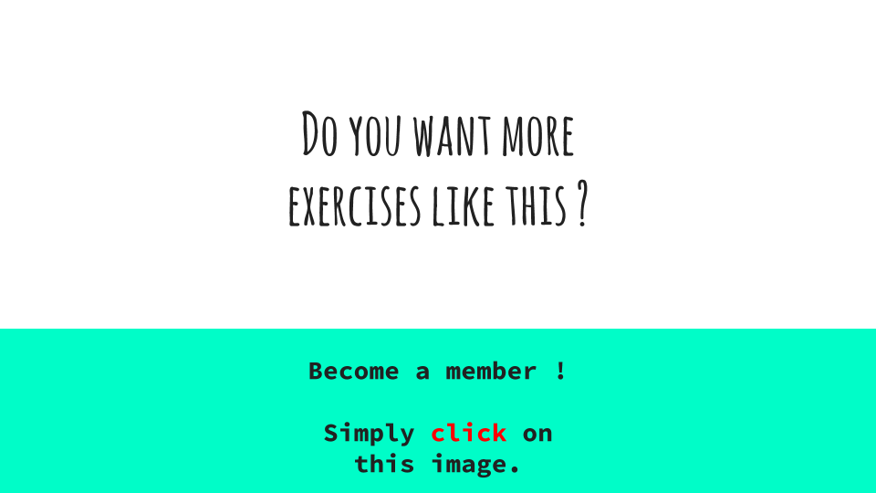 Become a member simple-french